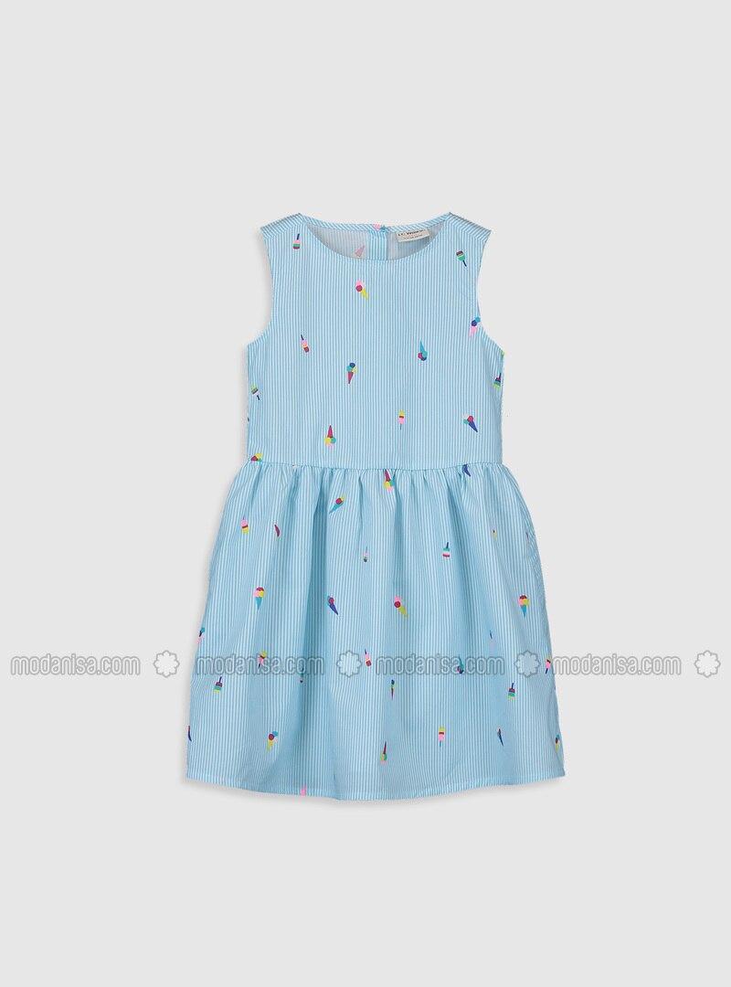 Blue - Girls` Dress