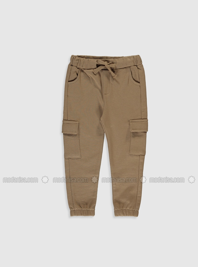 Brown - Baby Pants