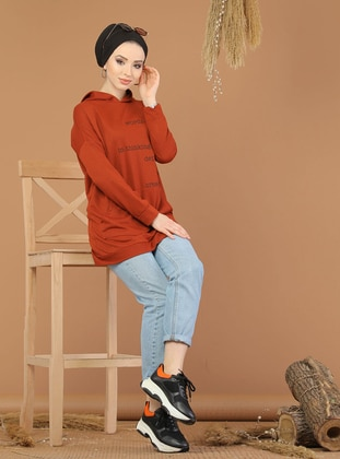 Terra Cotta -  - Sweat-shirt - Tofisa Sports