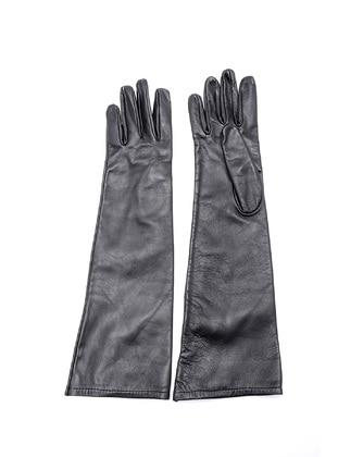 Black - Glove - Derimod