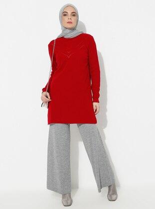Gray - Acrylic -  - Pants - ERL