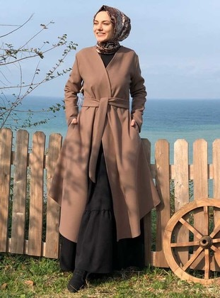 Mink - Unlined - Shawl Collar -  - Coat