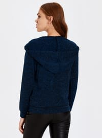 Navy Blue - Sweat-shirt