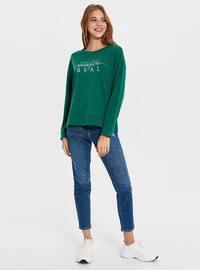 Green - Sweat-shirt