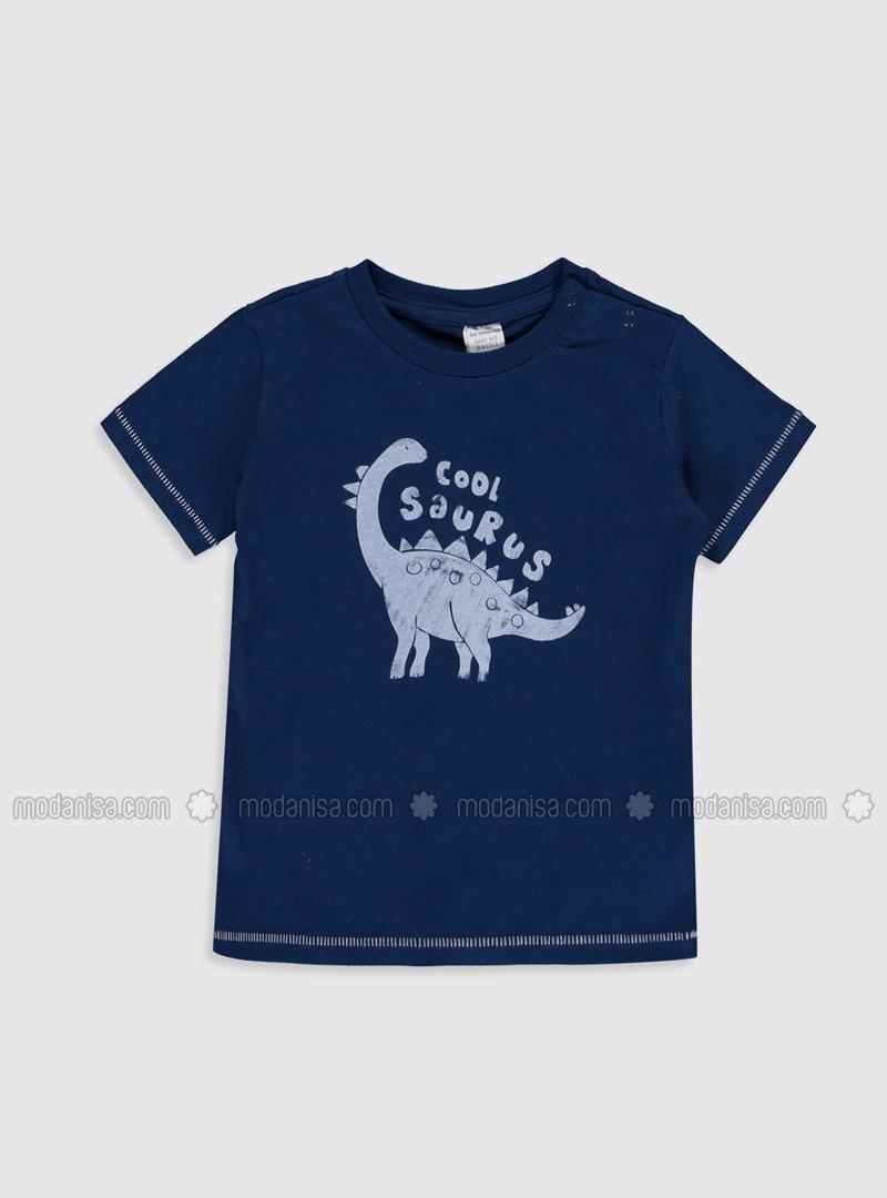 Navy Blue - baby t-shirts
