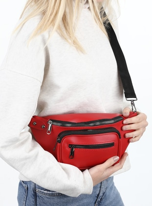 Red - Satchel - Bum Bag