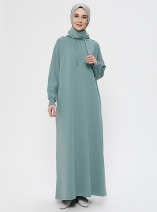 Green Almond - Polo neck - Unlined -  - Dress