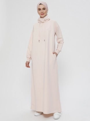 Powder - Polo neck - Unlined -  - Dress