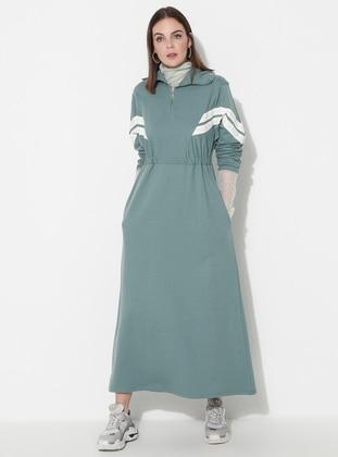 Green Almond - Unlined -  - Dress