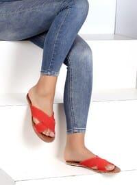 Red - Sandal