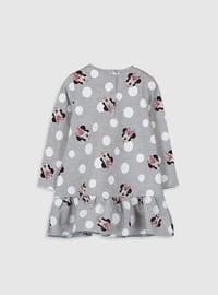 Gray - Baby Dress
