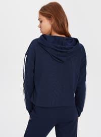 Navy Blue - Sweat-shirt