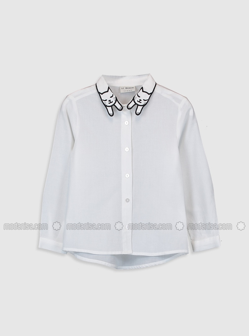Ecru - Girls` Shirt