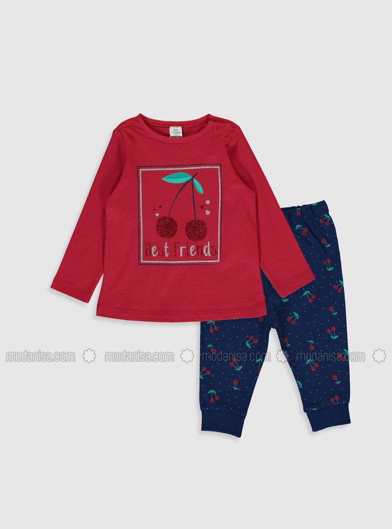 Red - Baby Pyjamas
