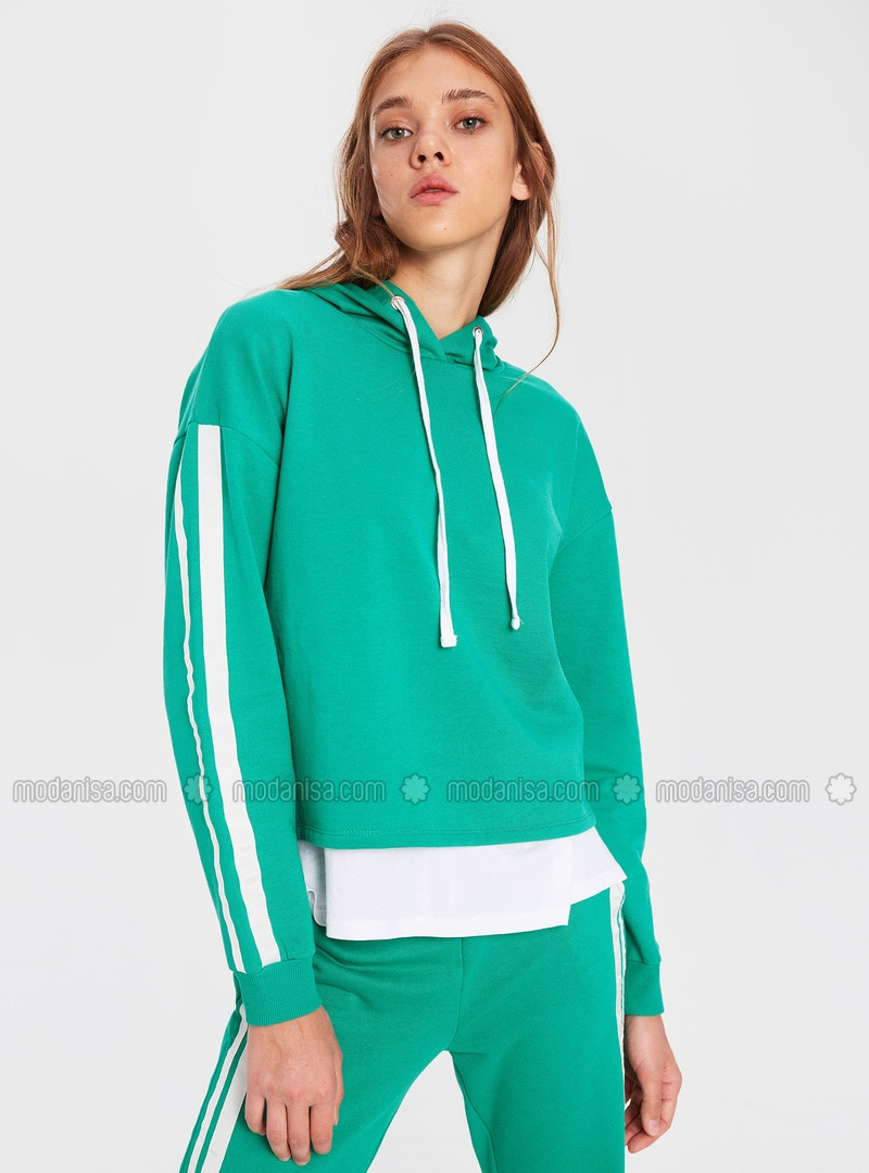 Green - Sweat-shirt