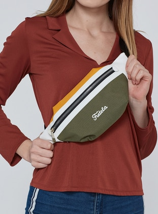 Brown - Yellow - Bum Bag