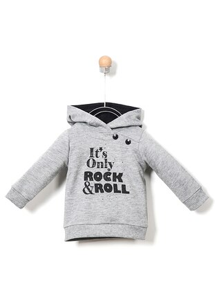 Cotton - Gray - Baby Skirt