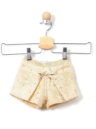 Acrylic - Beige - Baby Shorts