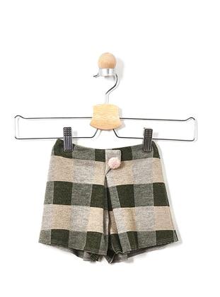 Viscose - Khaki - Baby Shorts