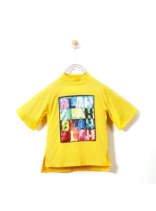 Crew neck -  - Yellow - Girls` Tunic