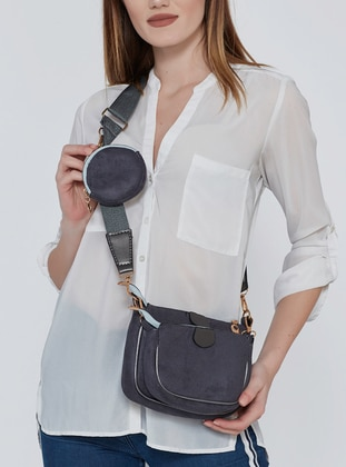 Anthracite - Satchel - Shoulder Bags