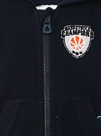 - Unlined - Navy Blue - Baby Vest