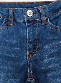 - Unlined - Navy Blue - Girls` Pants