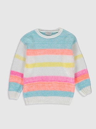 Ecru - Girls` Pullovers - LC WAIKIKI