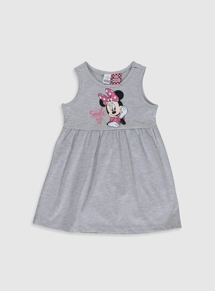 Gray - Baby Dress - LC WAIKIKI