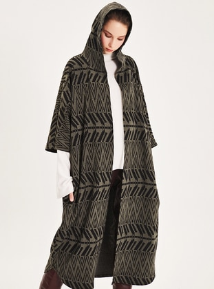 Multi - Stripe - Multi - Unlined -  - Poncho