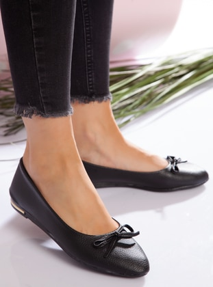 Black - Casual - Black - Casual Shoes