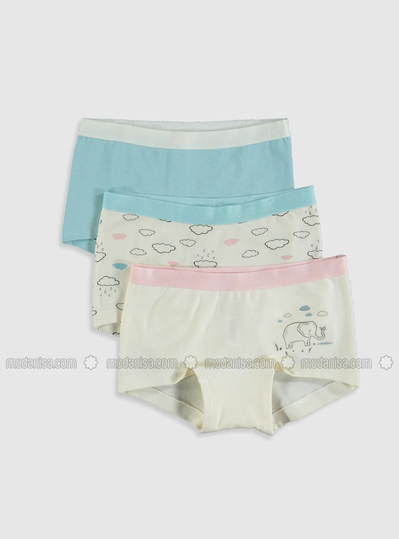Ecru - Girls` Underwear