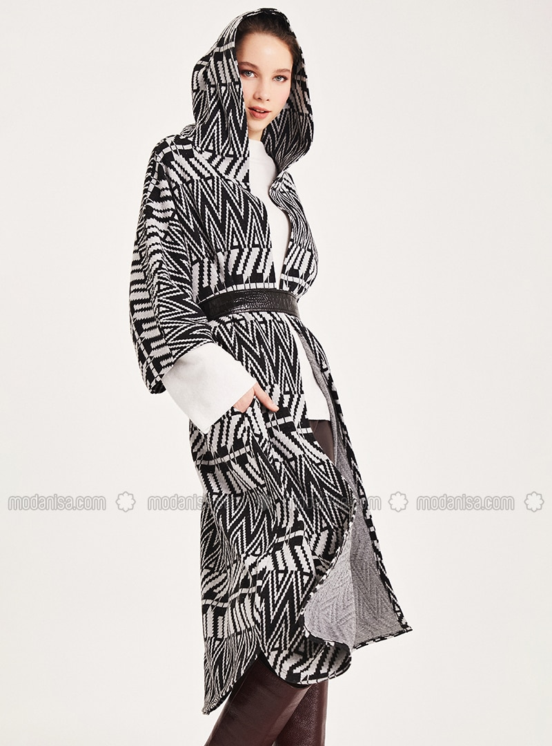 Multi - Stripe - Multi - Unlined -  - Poncho