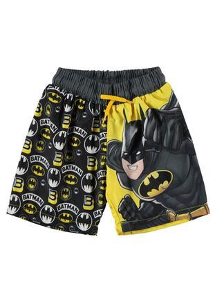 Yellow - Boys` Shorts - BATMAN
