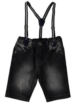 Blue - Boys` Capri Pants -  Boys
