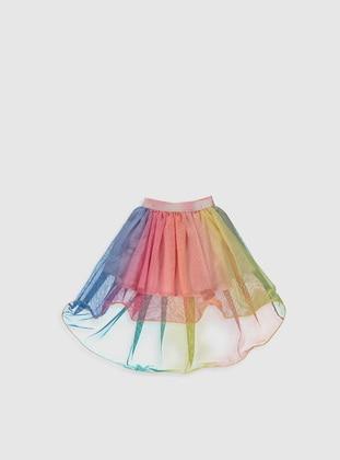 Multi - Girls` Skirt