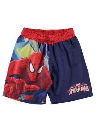 Navy Blue - Boys` Shorts - SPIDERMAN