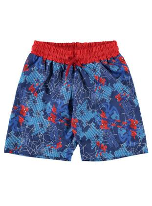 Blue - Boys` Shorts - SPIDERMAN