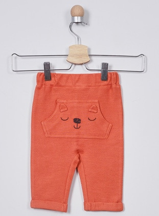 - Unlined - Orange - Baby Pants