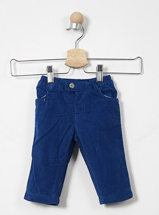 Cotton - Saxe - Baby Pants - Panço