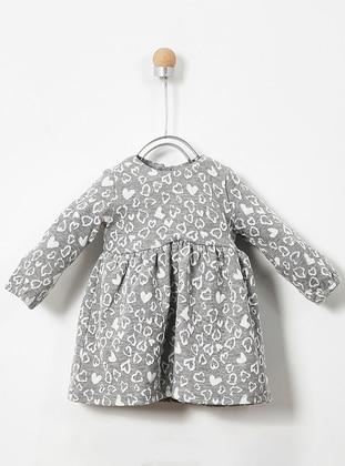 Multi - Crew neck - Multi - Baby Dress