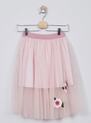 Pink - Girls` Skirt - Panço