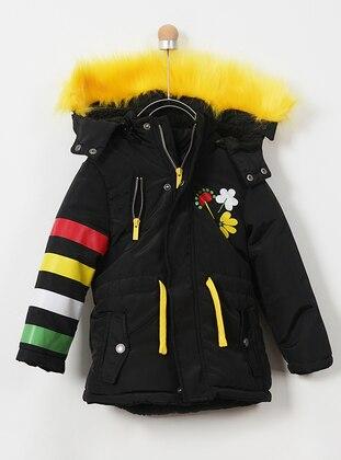 Unlined - Black - Girls` Coat