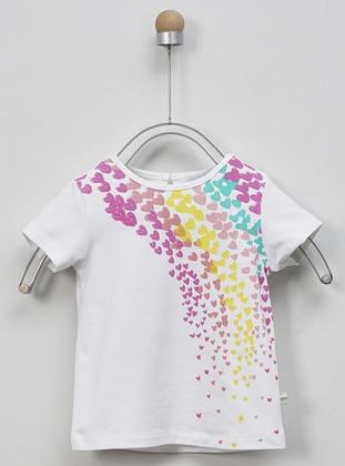 White - baby t-shirts - Panço