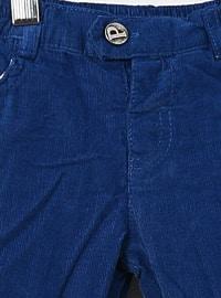 Cotton - Saxe - Baby Pants