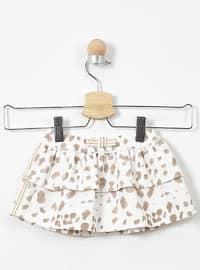 Multi - Ecru - Baby Skirt