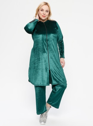Emerald - Unlined - Plus Size Suit