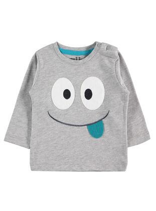 Gray - Baby Sweatshirts - Kujju
