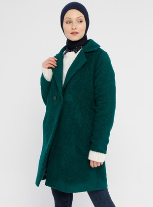 Emerald - Fully Lined - Shawl Collar - Coat