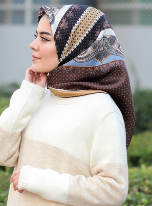 Camel - Brown - Scarf